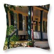 Salem Tavern Throw Pillow