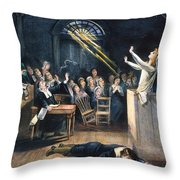 Salem Witch Trial, 1692 Throw Pillow