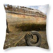 Salen Wrecks Throw Pillow