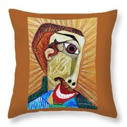 Salesman Of The Year Throw Pillow