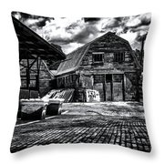 Salisbury Ct Throw Pillow