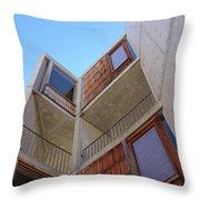 Salk Architecture Throw Pillow