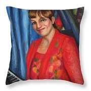 Sally Ann Throw Pillow