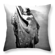 Sally Rand (1904-1979) Throw Pillow