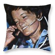 Sally Ride Throw Pillow
