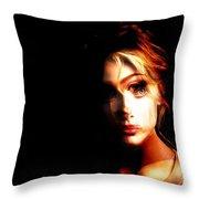 Sally White. Always First, Always Best Throw Pillow