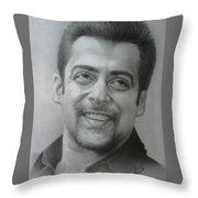 Salman Throw Pillow
