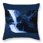 Salmon Creek Falls Throw Pillow