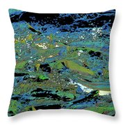 Salmon Run 4 Throw Pillow