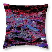 Salmon Run 8 Throw Pillow