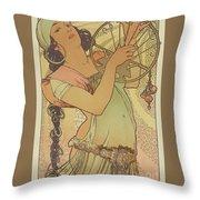 Salome, 1897 Throw Pillow