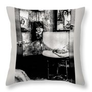 Salon Throw Pillow