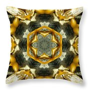 Salt And Pepper Seaweed Throw Pillow
