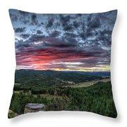 Salt Creek Sunrise Throw Pillow