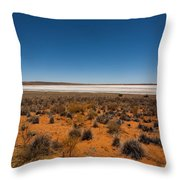 Salt Lake Throw Pillow
