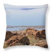 Salt Lake View 3 Throw Pillow
