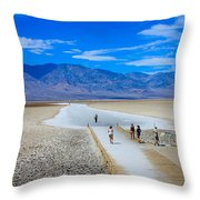Salt Stretch Throw Pillow