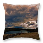 Saltmarsh Pond Gilford Nh Throw Pillow