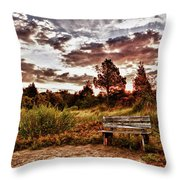 Saltmarsh Set A Spell Throw Pillow