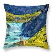 Salto Grande Throw Pillow
