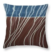 Saltwater Trails #1 Throw Pillow