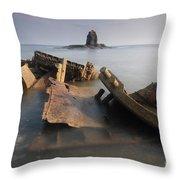 Saltwick Bay Throw Pillow