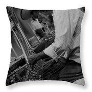 Salvadorean Handcrafter 1 Throw Pillow