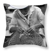 Salvadorean Handcrafter Throw Pillow