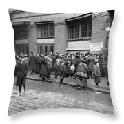Salvation Army, 1908 Throw Pillow
