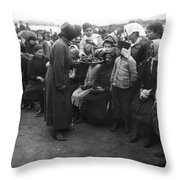 Salvation Army, 1920 Throw Pillow
