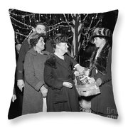 Salvation Army, 1923 Throw Pillow