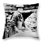 Salvation Army, C1920 Throw Pillow