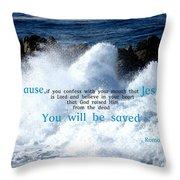 Salvation1 Throw Pillow