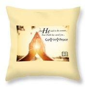 Salvation6 Throw Pillow