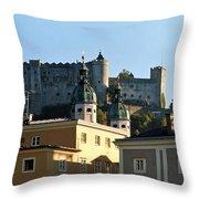 Salzburg Austria 3 Throw Pillow