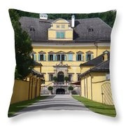 Salzburg Chateau Throw Pillow