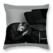 Sam Claflin Throw Pillow