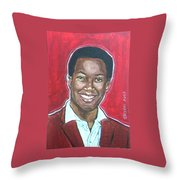Sam Cooke Throw Pillow