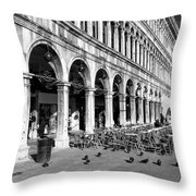 San Marco Perspective Throw Pillow