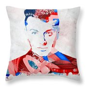 Sam Smith Throw Pillow