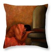 Samarpan 2 Throw Pillow