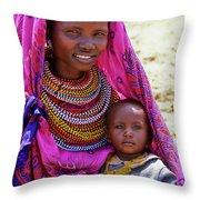Samburu Madonna Throw Pillow