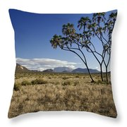 Samburu Safari  Throw Pillow