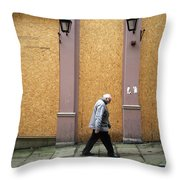 Same Old Hill For Me Throw Pillow