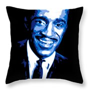 Sammy Davis Throw Pillow