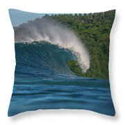 Samoa Power Throw Pillow