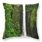 Samoan Falls 2 Throw Pillow