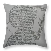 Samra Throw Pillow