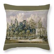 Samuel Fleet Homestead Throw Pillow