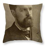 Samuel Rutherford Crockett, 1859-1914 Throw Pillow